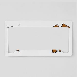 DOXIE-Cartoon License Plate Holder