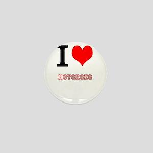 i heart hotgreg Mini Button