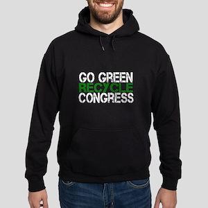 Go Green Recycle Congress Hoodie (dark)