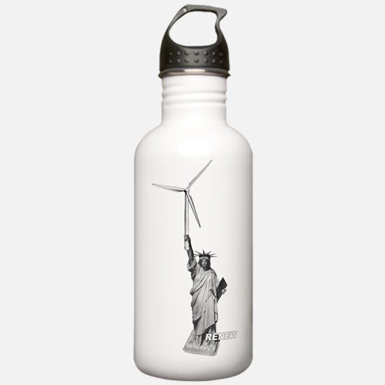 Marks Statue Silhouett Water Bottle
