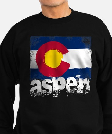 Aspen Grunge Flag Sweatshirt (dark)