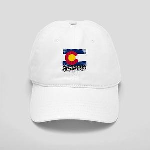 Aspen Grunge Flag Cap