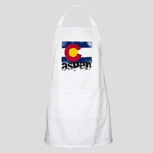 Aspen Grunge Flag Apron