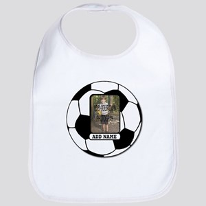 Photo and Name personalized soccer ball Bib