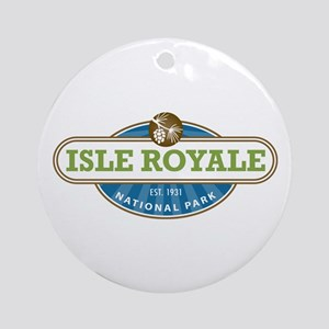 Isle Royale National Park Ornament (Round)