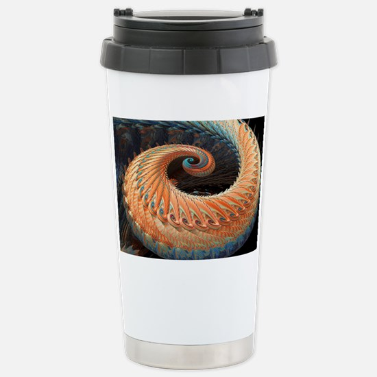 Dragon tail fractal Stainless Steel Travel Mug