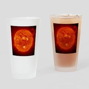 solar_prom_black Drinking Glass