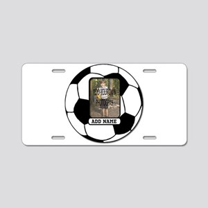 Photo and Name personalized soccer ball Aluminum L
