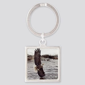 Striking Eagle Keychains
