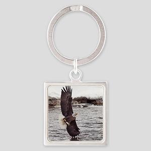 Striking Eagle Keychains