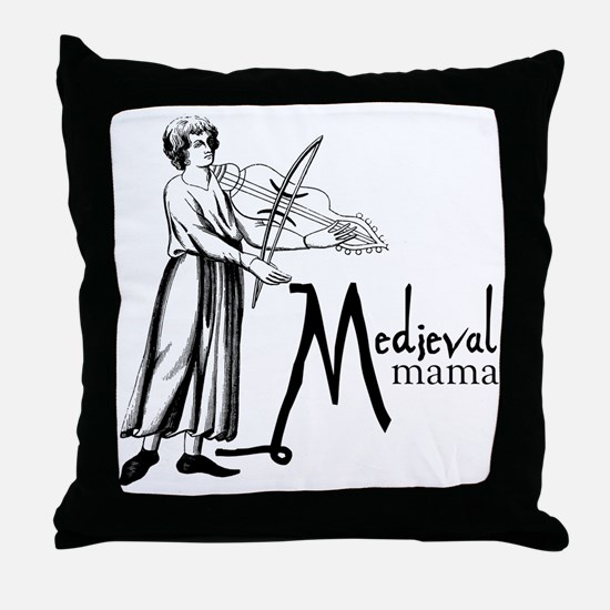 medieval Mama Throw Pillow