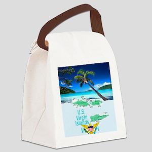 VIRGIN ISLANDS Canvas Lunch Bag