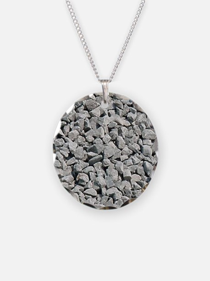 Gravel background Necklace