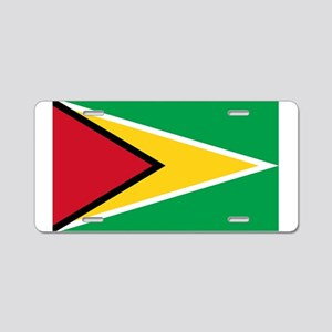 Guyana Aluminum License Plate