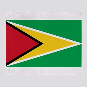 Guyana Throw Blanket