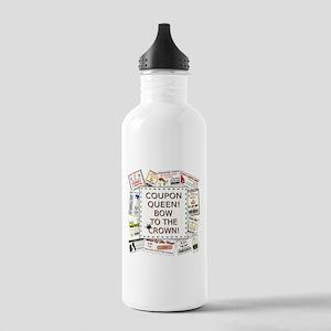 COUPON QUEEN! Water Bottle