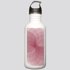 Pink Flower Stainless Water Bottle 1.0L
