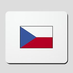 Czech Republic Flag Mousepad