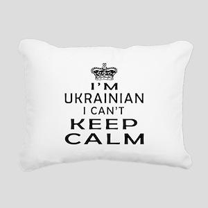 I Am Ukrainian I Can Not Keep Calm Rectangular Can