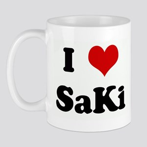 I Love SaKi Mug