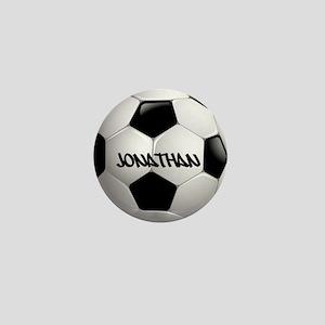 Customizable Soccer Ball Mini Button