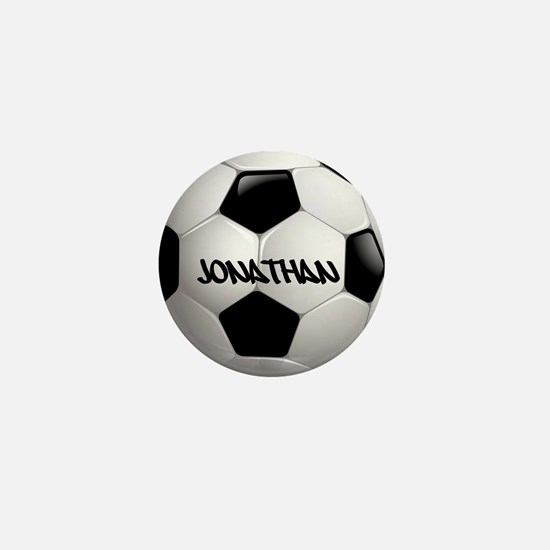 Customizable Soccer Ball Mini Button