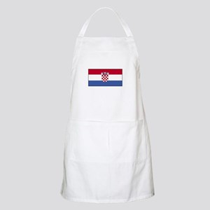 Croatia Flag BBQ Apron