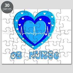 OB Nurse QRS New blue Puzzle