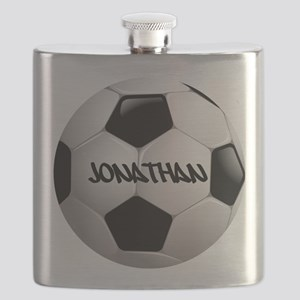 Customizable Soccer Ball Flask