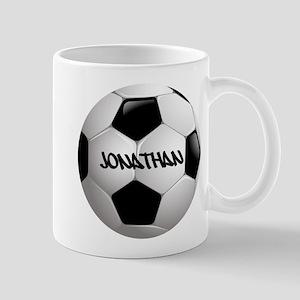 Customizable Soccer Ball Mugs