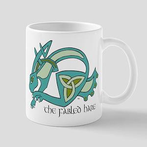 fabled hare logo Mugs