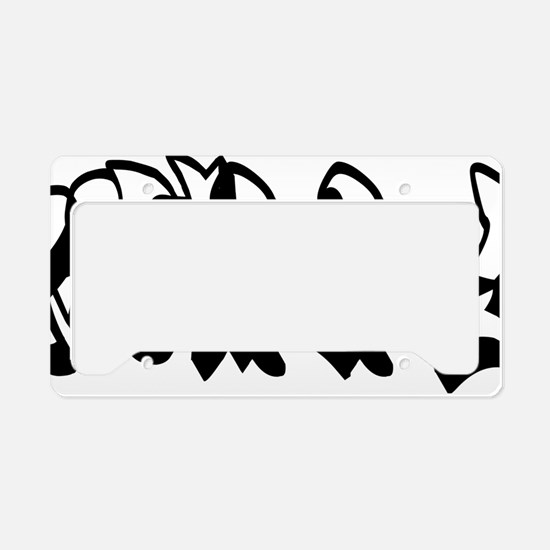 philly2 License Plate Holder