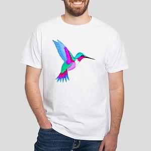 HUMMINGBIRD 2 White T-Shirt