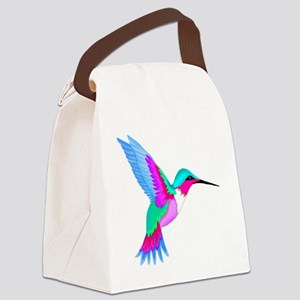 HUMMINGBIRD 2 Canvas Lunch Bag