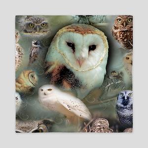 Happy Owls Queen Duvet