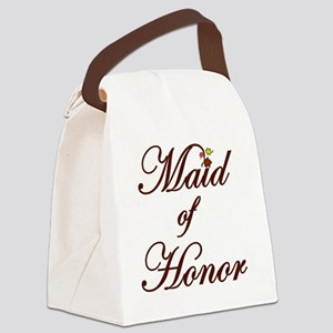 Autumn Maid of Honor Canvas Lunch Bag