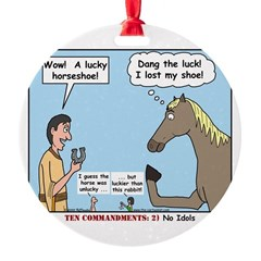Lucky Horseshoe Ornament