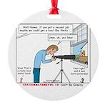 Coveting Stuff Round Ornament