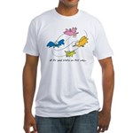All The Good Birdies on Their Way Fitted T-shirt