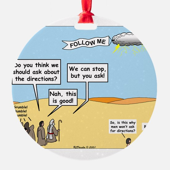 Men and Directions Ornament