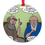 The Dads Round Ornament