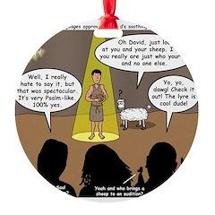 David Wins Israeli Idol Ornament