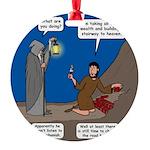 Led Zephaniah Round Ornament