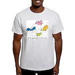 All The Good Birdies On Their Way Ash Grey T-Shirt