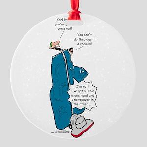 Barths Vacuum Round Ornament