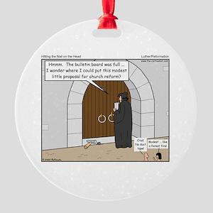Wittenburg Door Round Ornament