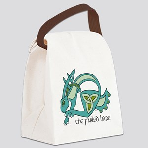 fabled hare logo Canvas Lunch Bag