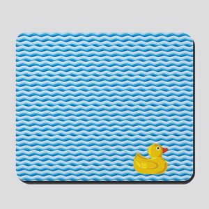 Ducky Swim Mousepad