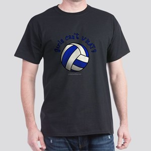 volleyball-blue Dark T-Shirt