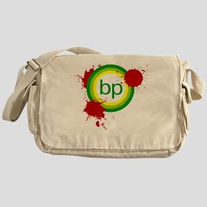 boycott_petroleum_black Messenger Bag